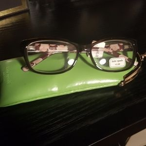 Kate Spade glasses with case